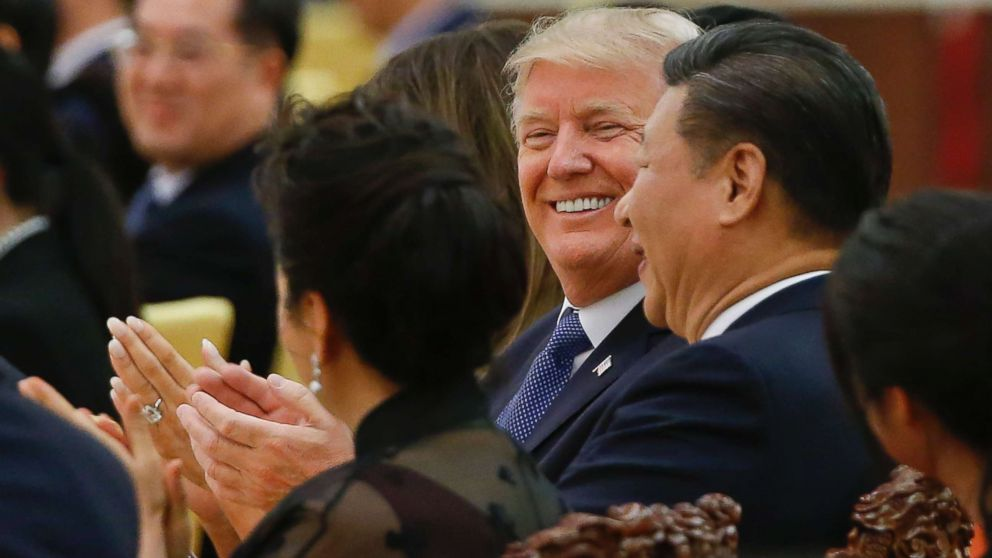 """""""Las conversaciones con China van muy bien"""", dice Trump"""